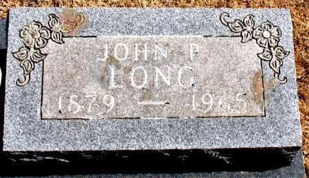 LONG, JOHN P. - Carroll County, Arkansas   JOHN P. LONG - Arkansas Gravestone Photos
