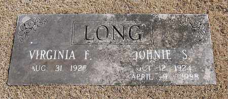 LONG, JOHNIE S. - Carroll County, Arkansas | JOHNIE S. LONG - Arkansas Gravestone Photos