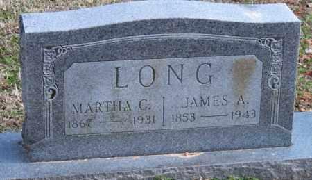 LONG, MARTHA C - Carroll County, Arkansas | MARTHA C LONG - Arkansas Gravestone Photos