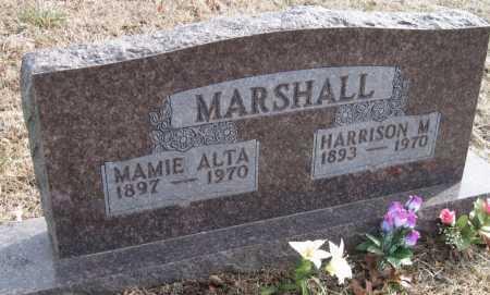 MARSHALL, HARRISON M - Carroll County, Arkansas   HARRISON M MARSHALL - Arkansas Gravestone Photos
