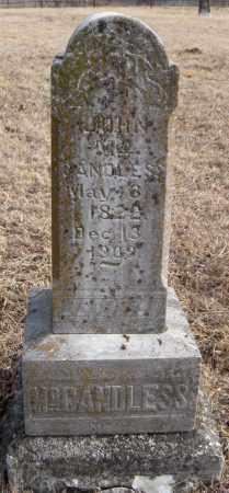 MCCANDLESS, JOHN - Carroll County, Arkansas   JOHN MCCANDLESS - Arkansas Gravestone Photos