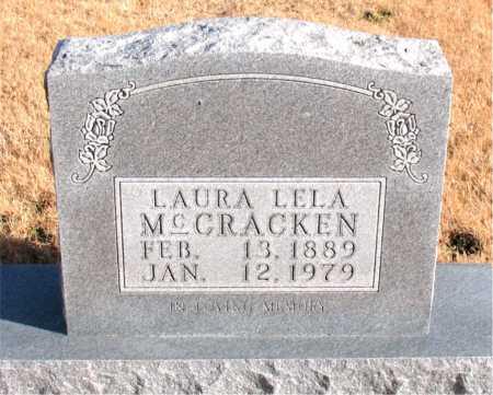 MCCRACKEN, LAURA LELA - Carroll County, Arkansas | LAURA LELA MCCRACKEN - Arkansas Gravestone Photos