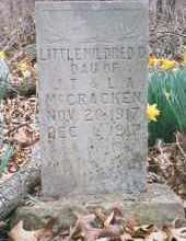 MCCRACKEN, MILDRED - Carroll County, Arkansas   MILDRED MCCRACKEN - Arkansas Gravestone Photos