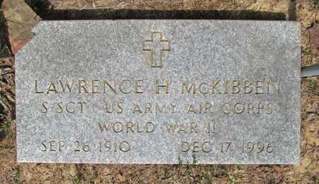 MCKIBBEN (VETERAN WWII), LAWRENCE H - Carroll County, Arkansas | LAWRENCE H MCKIBBEN (VETERAN WWII) - Arkansas Gravestone Photos