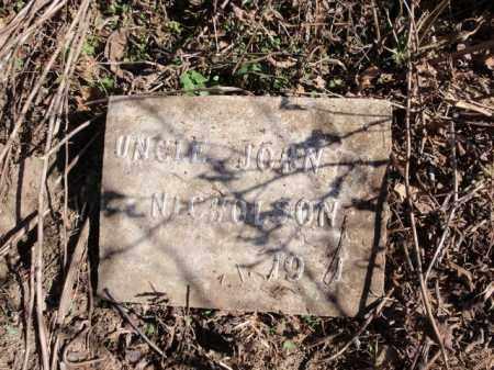 NICHOLSON, JOHN - Carroll County, Arkansas | JOHN NICHOLSON - Arkansas Gravestone Photos