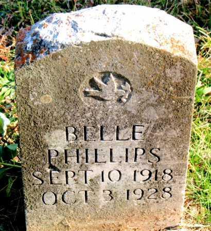 PHILLIPS, BELLE - Carroll County, Arkansas   BELLE PHILLIPS - Arkansas Gravestone Photos