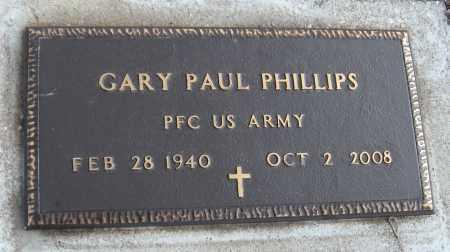 PHILLIPS (VETERAN), GARY PAUL - Carroll County, Arkansas   GARY PAUL PHILLIPS (VETERAN) - Arkansas Gravestone Photos