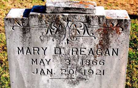 REAGAN, MARY  D. - Carroll County, Arkansas | MARY  D. REAGAN - Arkansas Gravestone Photos