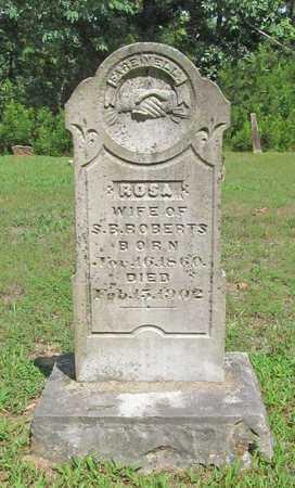 ROBERTS, ROSA - Carroll County, Arkansas | ROSA ROBERTS - Arkansas Gravestone Photos