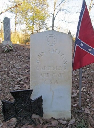 SKELTON (VETERAN CSA), JOHN - Carroll County, Arkansas | JOHN SKELTON (VETERAN CSA) - Arkansas Gravestone Photos
