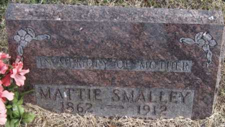 SMALLEY, MATTIE - Carroll County, Arkansas | MATTIE SMALLEY - Arkansas Gravestone Photos