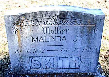 SMITH, MALINDA J - Carroll County, Arkansas | MALINDA J SMITH - Arkansas Gravestone Photos