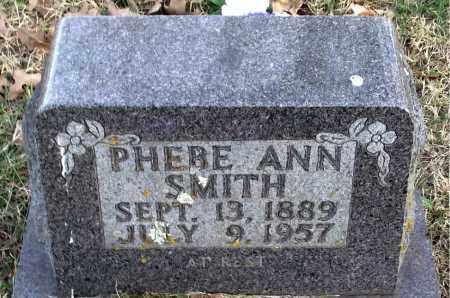 SMITH, PHEBE  ANN - Carroll County, Arkansas | PHEBE  ANN SMITH - Arkansas Gravestone Photos
