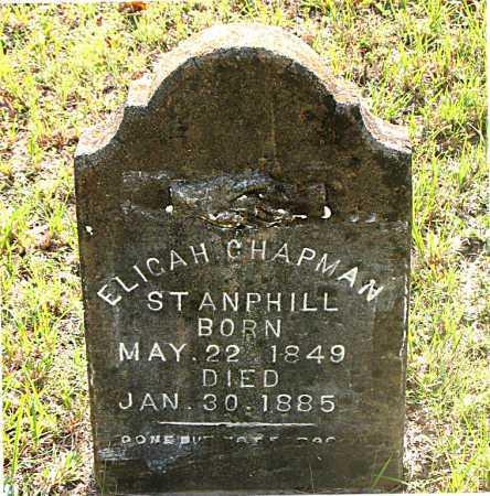 STANPHILL, ELIGAH CHAPMAN - Carroll County, Arkansas | ELIGAH CHAPMAN STANPHILL - Arkansas Gravestone Photos