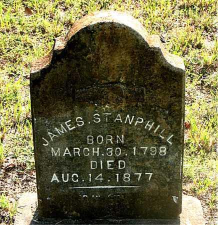 STANPHILL, JAMES - Carroll County, Arkansas | JAMES STANPHILL - Arkansas Gravestone Photos