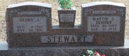 STEWART, MATTIE C - Carroll County, Arkansas | MATTIE C STEWART - Arkansas Gravestone Photos