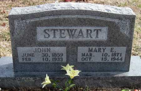 STEWART, MARY ELLEN - Carroll County, Arkansas | MARY ELLEN STEWART - Arkansas Gravestone Photos