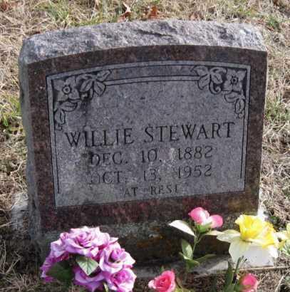 STEWART, WILLIE - Carroll County, Arkansas   WILLIE STEWART - Arkansas Gravestone Photos