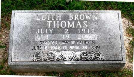 THOMAS, EDITH - Carroll County, Arkansas | EDITH THOMAS - Arkansas Gravestone Photos