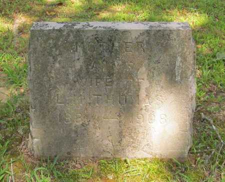 THOMAS, FANNIE - Carroll County, Arkansas   FANNIE THOMAS - Arkansas Gravestone Photos