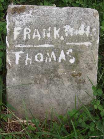 THOMAS, FRANK - Carroll County, Arkansas   FRANK THOMAS - Arkansas Gravestone Photos