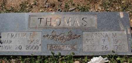 THOMAS, ANNA M - Carroll County, Arkansas | ANNA M THOMAS - Arkansas Gravestone Photos