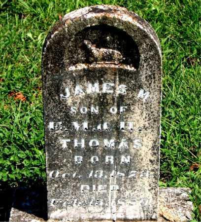 THOMAS, JAMES M. - Carroll County, Arkansas | JAMES M. THOMAS - Arkansas Gravestone Photos