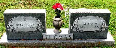 THOMAS, RUBY - Carroll County, Arkansas | RUBY THOMAS - Arkansas Gravestone Photos