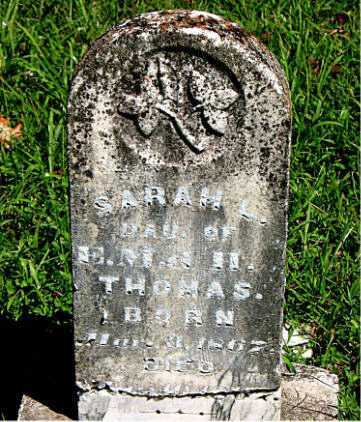 THOMAS, SARAH - Carroll County, Arkansas | SARAH THOMAS - Arkansas Gravestone Photos