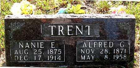 TRENT, ALFRED G. - Carroll County, Arkansas | ALFRED G. TRENT - Arkansas Gravestone Photos