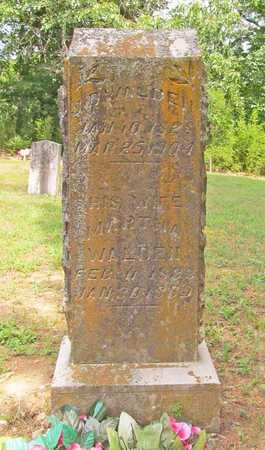 WALDEN, MARTHA - Carroll County, Arkansas | MARTHA WALDEN - Arkansas Gravestone Photos