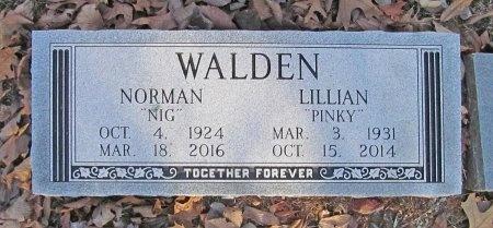 "WALDEN, NORMAN ""NIG"" - Carroll County, Arkansas | NORMAN ""NIG"" WALDEN - Arkansas Gravestone Photos"