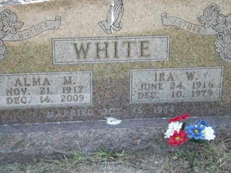 WHITE, IRA W - Carroll County, Arkansas | IRA W WHITE - Arkansas Gravestone Photos