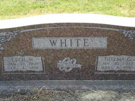 WHITE, THELMA G - Carroll County, Arkansas | THELMA G WHITE - Arkansas Gravestone Photos