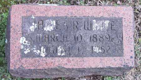 WHITE, JAMES R - Carroll County, Arkansas | JAMES R WHITE - Arkansas Gravestone Photos