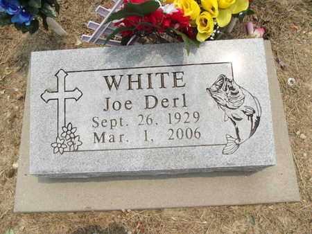 WHITE, JOE DERL - Carroll County, Arkansas | JOE DERL WHITE - Arkansas Gravestone Photos