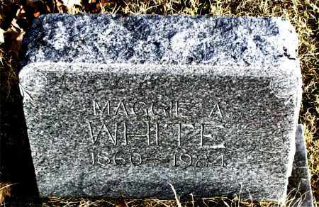 WHITE, MAGGIE - Carroll County, Arkansas | MAGGIE WHITE - Arkansas Gravestone Photos