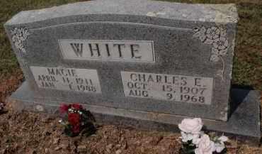 WHITE, CHARLES E - Carroll County, Arkansas | CHARLES E WHITE - Arkansas Gravestone Photos