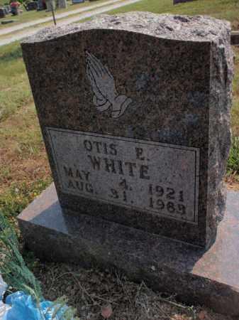 WHITE, OTIS E - Carroll County, Arkansas | OTIS E WHITE - Arkansas Gravestone Photos