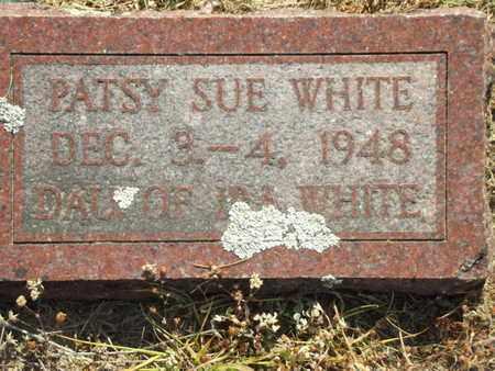 WHITE, PATSY SUE - Carroll County, Arkansas | PATSY SUE WHITE - Arkansas Gravestone Photos
