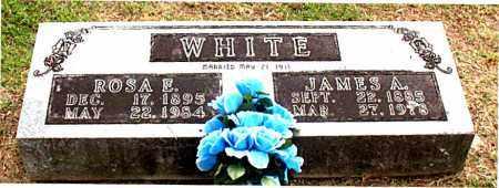 WHITE, JAMES  A. - Carroll County, Arkansas   JAMES  A. WHITE - Arkansas Gravestone Photos
