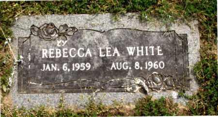 WHITE, REBECCA LEA - Carroll County, Arkansas | REBECCA LEA WHITE - Arkansas Gravestone Photos