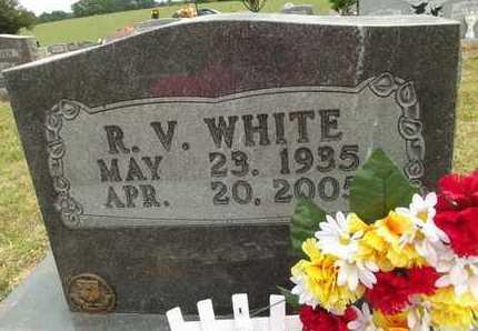 WHITE, R V - Carroll County, Arkansas | R V WHITE - Arkansas Gravestone Photos
