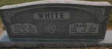 WHITE, FRANK J - Carroll County, Arkansas | FRANK J WHITE - Arkansas Gravestone Photos