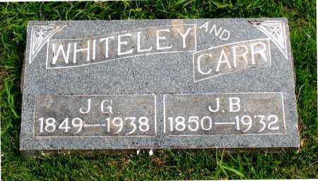 CARR, J B - Carroll County, Arkansas | J B CARR - Arkansas Gravestone Photos