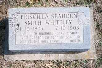 SEAHORN WHITELEY, PRISCILLA SMITH - Carroll County, Arkansas | PRISCILLA SMITH SEAHORN WHITELEY - Arkansas Gravestone Photos