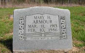 ARMOUR, MARY H - Chicot County, Arkansas | MARY H ARMOUR - Arkansas Gravestone Photos