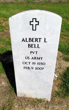BELL (VETERAN KOR), ALBERT L. - Chicot County, Arkansas | ALBERT L. BELL (VETERAN KOR) - Arkansas Gravestone Photos