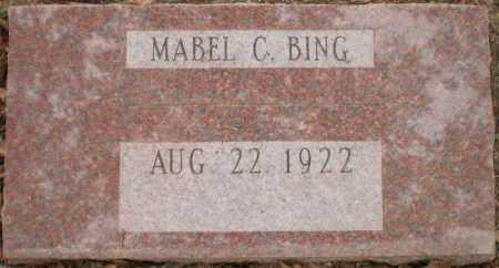 BING, MABEL - Chicot County, Arkansas | MABEL BING - Arkansas Gravestone Photos