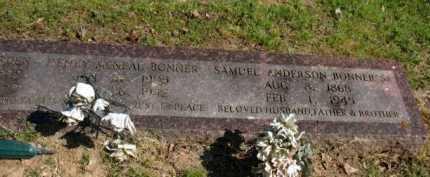 BONNER, PENNY - Chicot County, Arkansas | PENNY BONNER - Arkansas Gravestone Photos